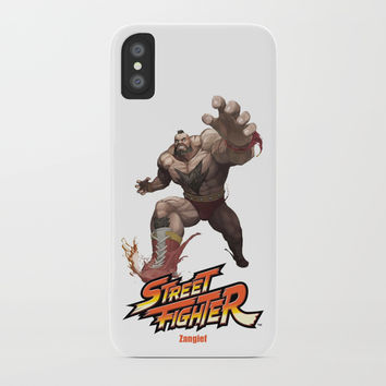Street Fighter Zangief iPhone Case by Dexter Gornez