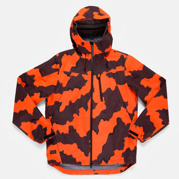 10Deep | Tops | H13 Altitude Tech Jacket - Orange Chipless