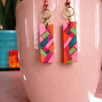 Edgy and Abstract City Vibe Shrinky Dink by CaliLilyTreasureCo