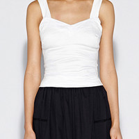 Cotton Metal Top - WH