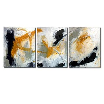 """Day Dreaming  - 48"""" X 20"""" Original Abstract  Art. Free-shipping within USA & 30 day return Policy."""