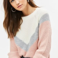LA Hearts Nancy Girl Chevron Sweater at PacSun.com