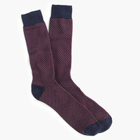 J.Crew Mens Talon Stitch Socks