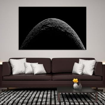 82720 - Planet Earth Moon Wall Art, Space Wall Art, Earth n Moon Art, Planet Earth Canvas, Space Canvas Art, Earth Moon and Stars, Moon Poster, Galaxy Art