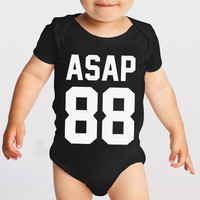 Asap rocky baby vest hip hop swag rnb music rap baby shower gift tumblr baby shower mother dad present