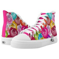 Roses Parade Shoes Printed Shoes