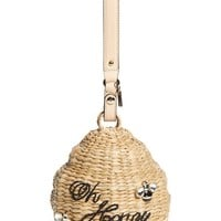 kate spade new york 'beehive - oh honey' straw bag | Nordstrom