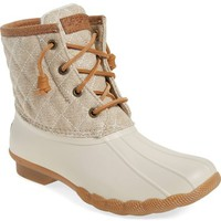 Sperry 'Saltwater - Quilted' Duck Boot (Women) | Nordstrom