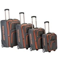 Rockland Luggage Varsity Polo Equipment 4 Piece Luggage Set