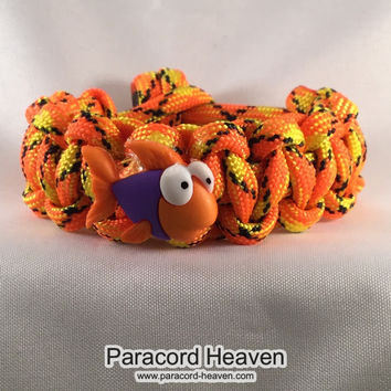 Finny The Fish - Children Paracord Heaven Survival Bracelet with Knot Closure