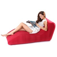 S Shape Inflatable Sofa Bed Home Living Room Furniture Backrest Inflatable Sofa Chair Comfortable Lounge Inflatable Bed JF0043