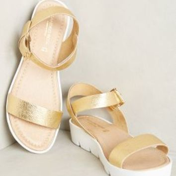 Sandro Rosi Lauretta Sandals Gold