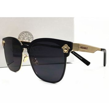 6d70b1ff425 Perfect Versace Women Casual Popular Summer Sun Shades Eyeglasse