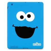 iSound Sesame Street Cookie Monster TPU Case for iPad 2 and iPad 3rd/4th generation
