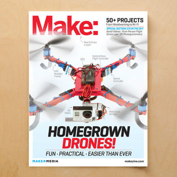 Make: magazine, Volume 37 (PDF)