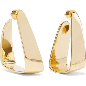Jennifer Fisher - Hammock gold-plated earrings
