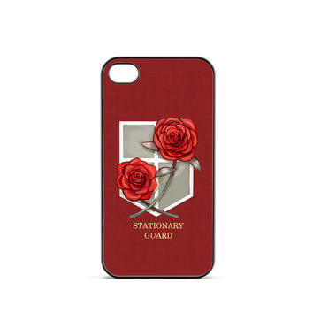 Attack on Titan Stasionary Guard iPhone 4 / 4s Case