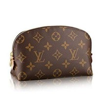 LOUIS VUITTON FASHION PRINT TOILETRY COSMETIC BAG BAGS PURSE WALLET HANDBAG I