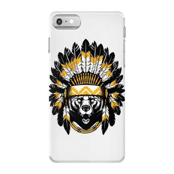 native american chief bear iPhone 7 Case