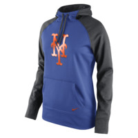 Nike Therma-FIT All-Time Pullover (MLB Mets) Women's Training Hoodie