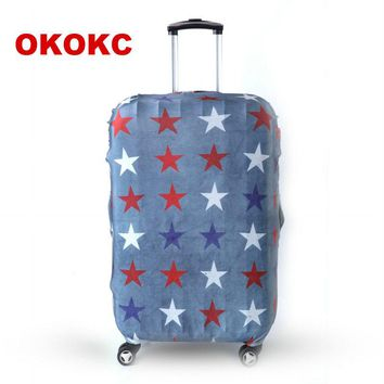 OKOKC Travel Luggage Suitcase Protective Cover for Trunk Case Apply to 19''-32'' Suitcase Cover Thick Elastic Perfectly