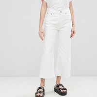 Cheap Monday Mid Rise Relaxed Fit Cut Off Jean at asos.com