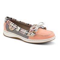 Sperry Top-Sider Serape Trimmed Angelfish Boat Shoe EXTENDED SIZES AVAILABLE at Von Maur