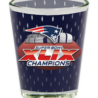 2 oz. Jersey Collector Glass-New England Patriots