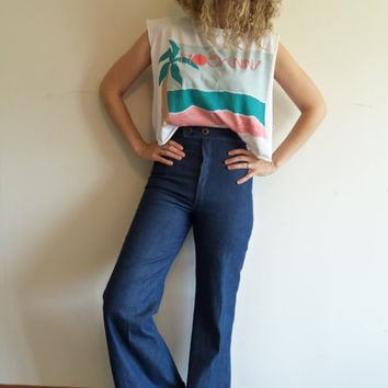 release info on newest finest selection Best 70s High Waisted Bell Bottom Jeans Products on Wanelo