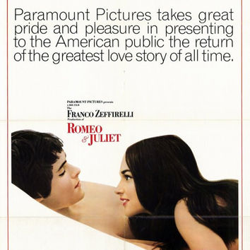 Romeo and Juliet 11x17 Movie Poster (1973)