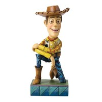Jim Shore Disney Traditions Woody Figurine, 7-Inch