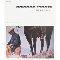 Collection of 17 Richard Prince Exhibition Announcements