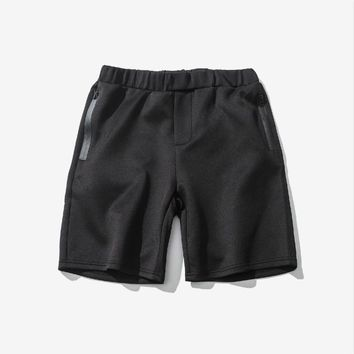 Men elastic waist shorts plus big size XXL men summer casual beach boardshorts Sportswear casual shorts men  MQ787