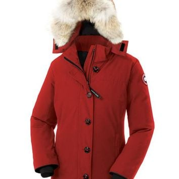 CANADA GOOSE winter women Down jacket/red