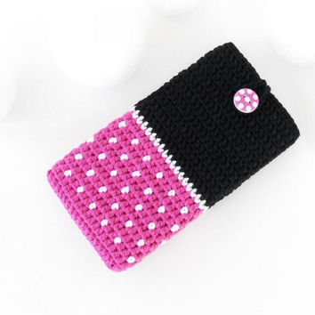 BlackBerry Aurora case, Pink Mini iPhone 7 plus cozy, Nokia 6 sleeve, eco Huawei P10 plus cover, HTC 10Evo cozy, vegan Samsung S7 edge pouch