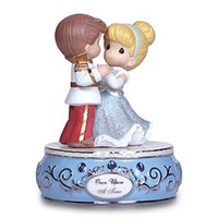 Cinderella and Prince Charming Figure by Precious Moments | Disney Store
