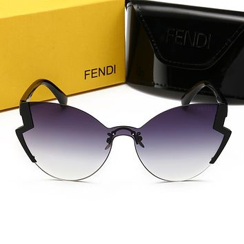 FENDI Hot Sale Fashion Woman Men Chic Summer Sun Shades Eyeglasses Glasses Sunglasses