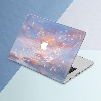 Sky Macbook case Stars Macbook air case Macbook air 13 case Sky Macbook pro case Planet Macbook pro 13 case Macbook pro 15 case 12 inch case