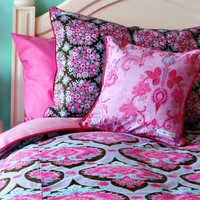 Jonette Pink Truffle Bedding Collection