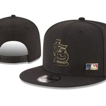 New Arrival New Era Black Cap MLB Baseball Fitted Hat-6