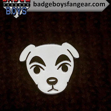 KK Slider Enamel Lapel Pin - Animal Crossing