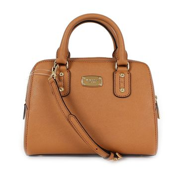 Michael Kors Small Saffiano Leather Satchel