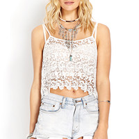 Cool Crochet Crop Top
