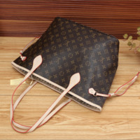 LV fashion letters backpack[380507848740]