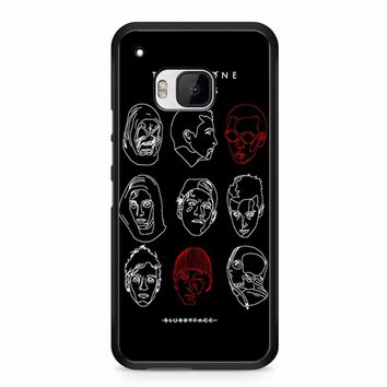 Poster For Twenty One Pilots HTC M9 Case