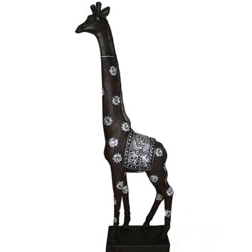 Attractive Giraffe Decor Polyresin