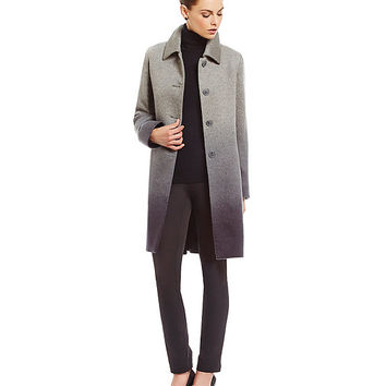 Katherine Kelly Ombre Cashmere Blend Coat | Dillards