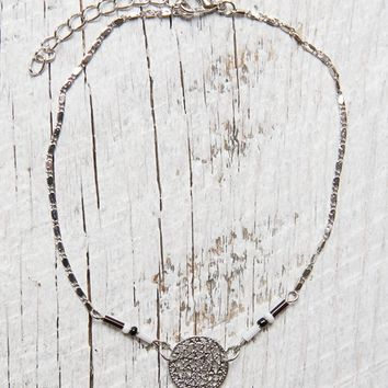 With Love From CA Flash Tattoo & Dreamcatcher Anklet Set - Womens Jewelry - Black - One