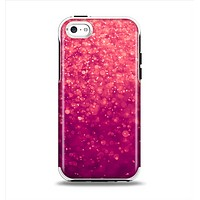 The Unfocused Pink Glimmer Apple iPhone 5c Otterbox Symmetry Case Skin Set