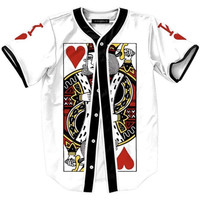 Onyx Hearts King of Hearts Baseball Jersey